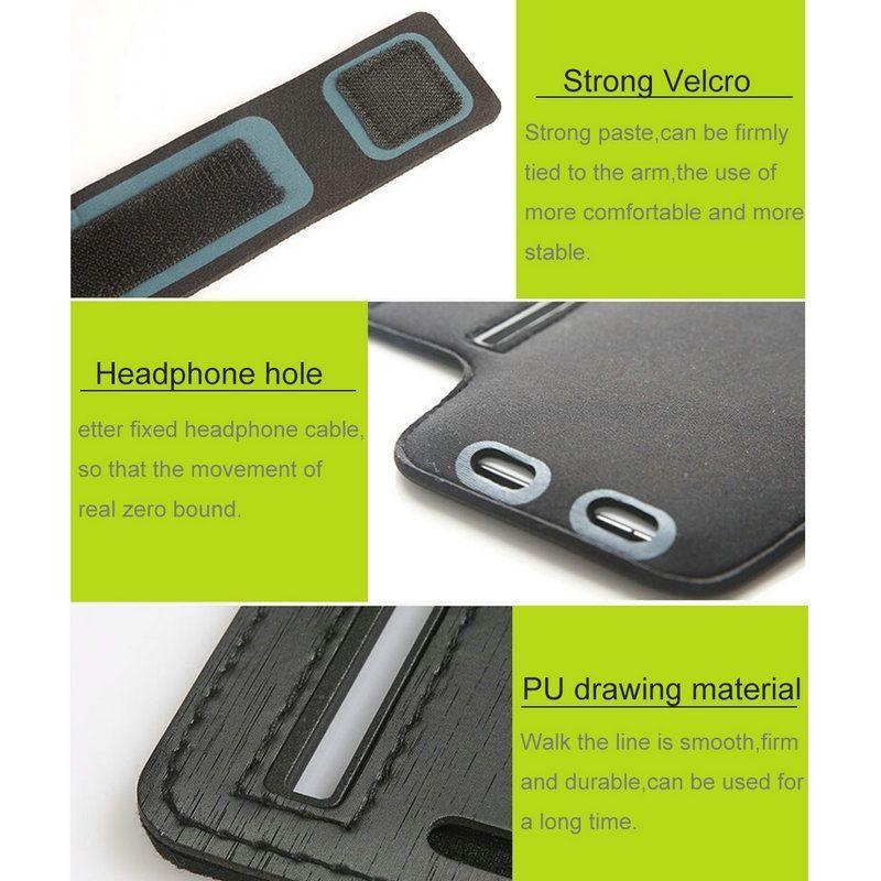 51ae47ac6898 ᐉ Чехол на руку HAWEEL Sport Armband для смартфонов шириной до 80 мм -  Black: купить, цена. Смотреть отзывы, обзор - Galaxy Store