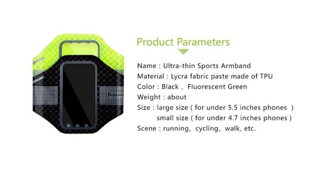 98214747a1fc ᐉ Чехол на руку BASEUS Ultra Thin Sports Armband для смартфонов: купить,  цена. Смотреть отзывы, обзор - Galaxy Store