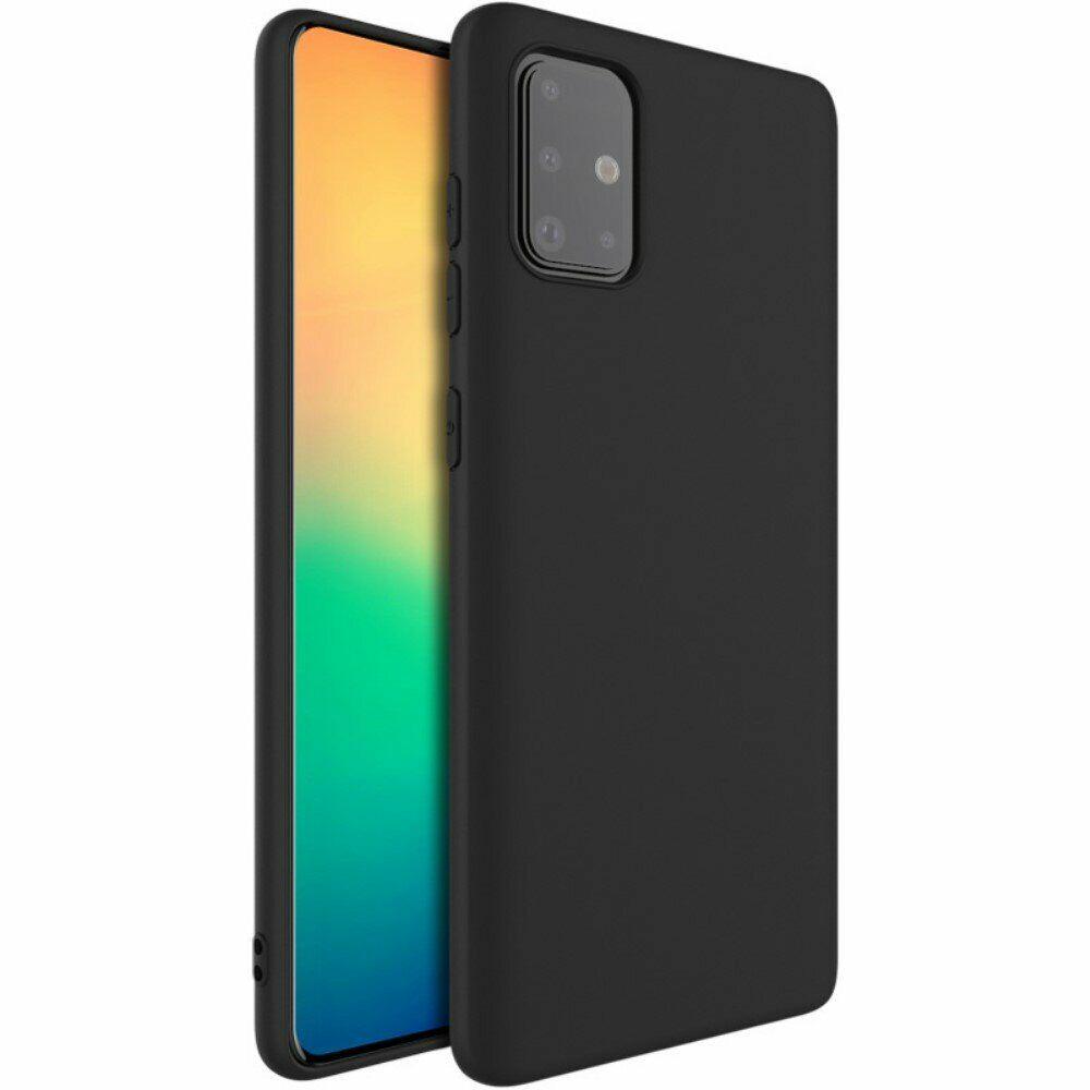 ᐉ силиконовый чехол Imak Uc 1 Series для Samsung Galaxy A71 A715 Black купить цена смотреть отзывы обзор Galaxy Store