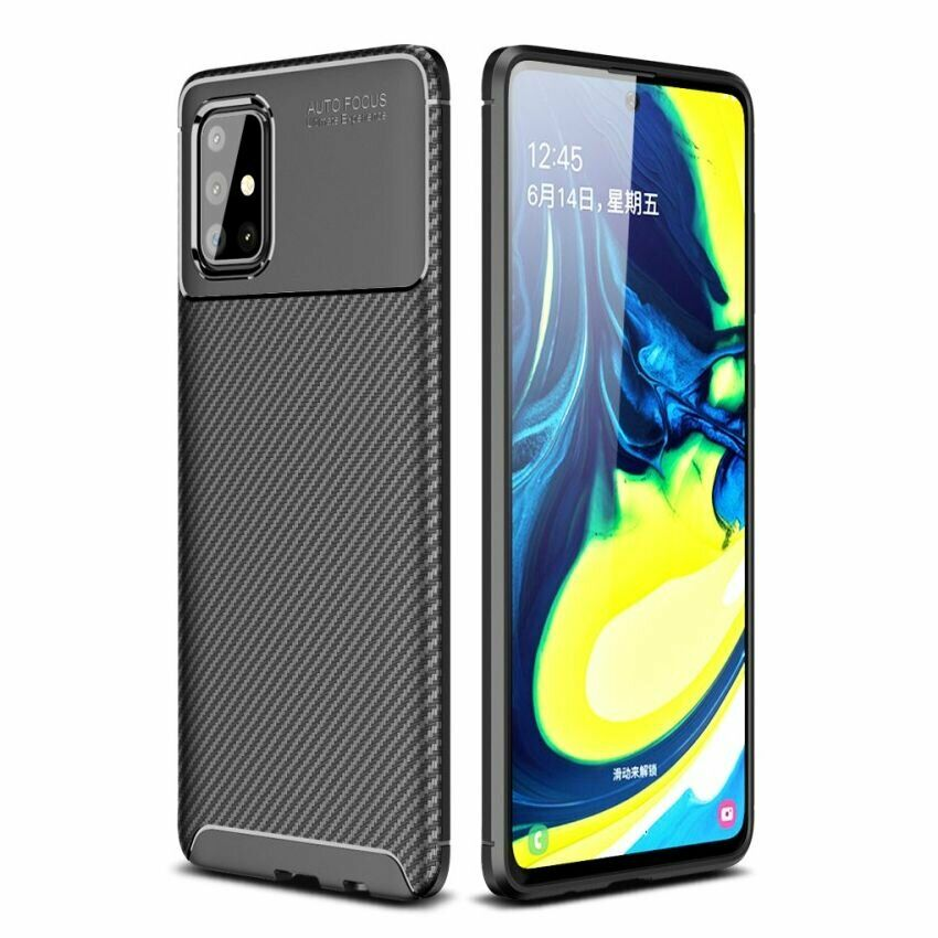 ᐉ защитный чехол Deexe Fusion для Samsung Galaxy A71 Black купить цена смотреть отзывы обзор Galaxy Store