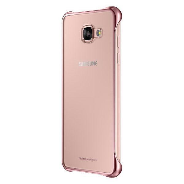 Чехол Clear Cover для Samsung Galaxy A5 (2016) EF-QA510CBEGWW - Pink.