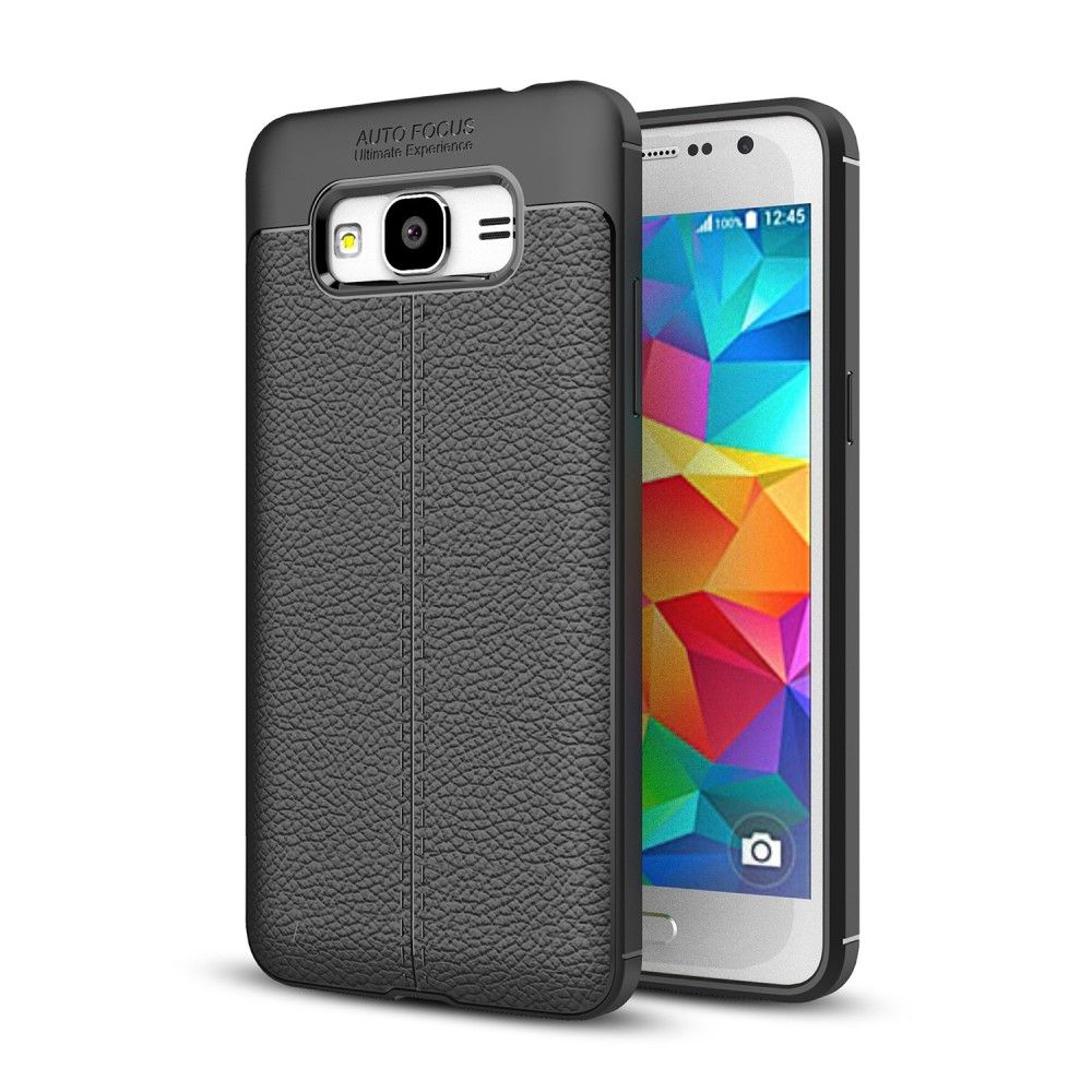 Deexe Leather Cover Samsung Galaxy J2 Prime