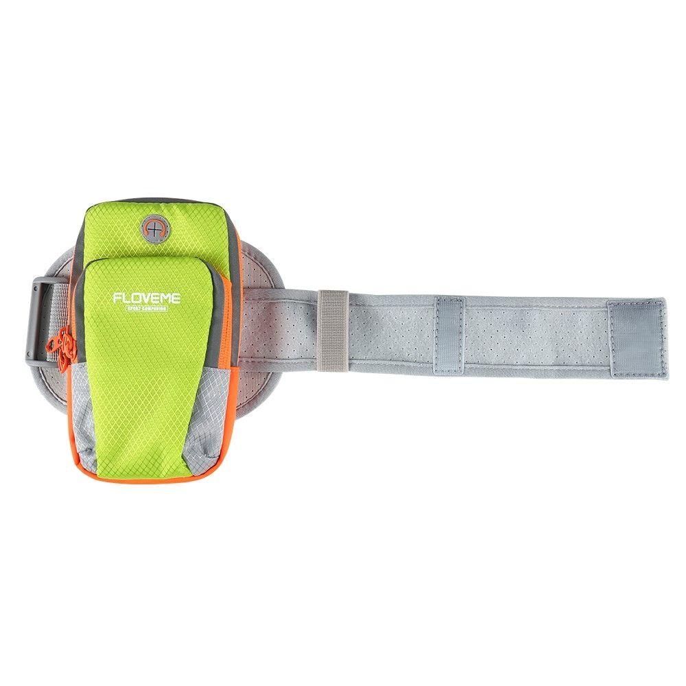 9469bce5abdb Спортивная сумка на руку FLOVEME Sport Bag для смартфонов - Green. Фото 4  из 9
