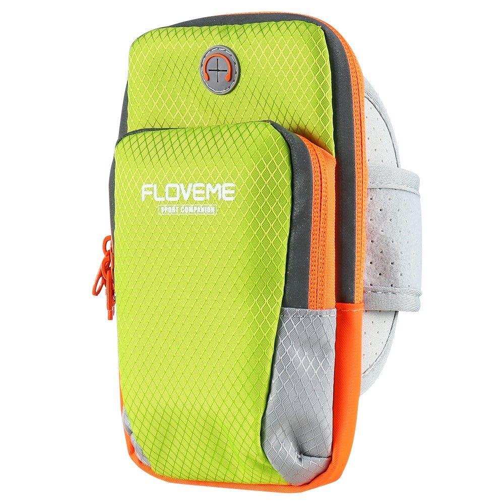 872909a3c368 ᐉ Спортивная сумка на руку FLOVEME Sport Bag для смартфонов - Green: купить,  цена. Смотреть отзывы, обзор - Galaxy Store