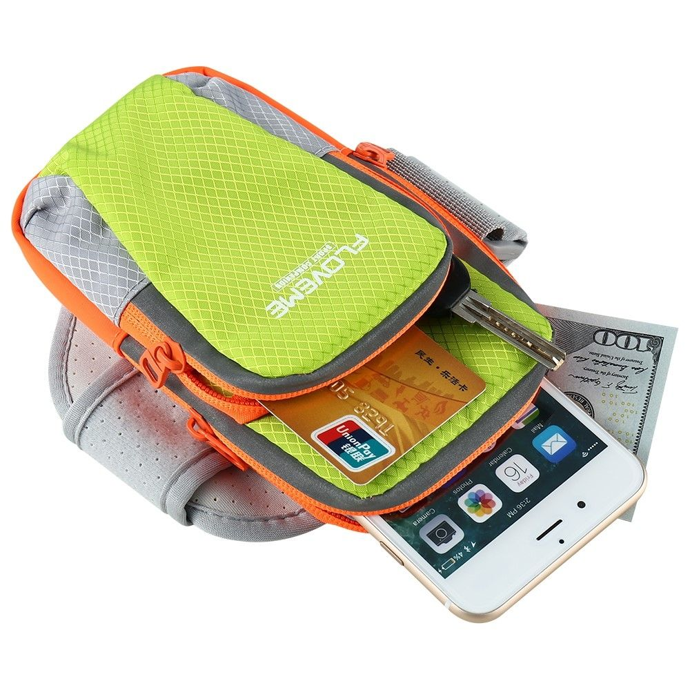 aef4fcf1f409 Спортивная сумка на руку FLOVEME Sport Bag для смартфонов - Green. Фото 3  из 9